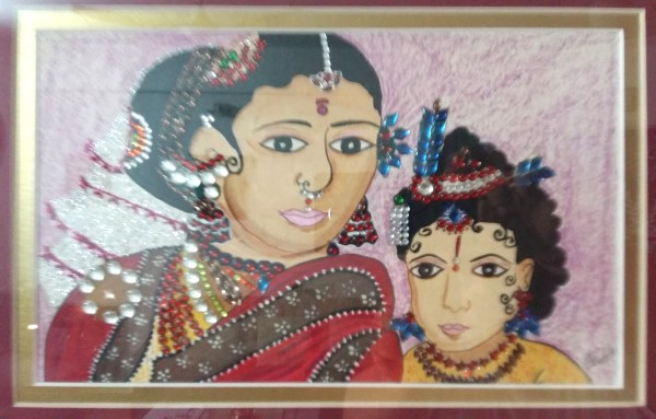 Krishna With Yashoda Maiya